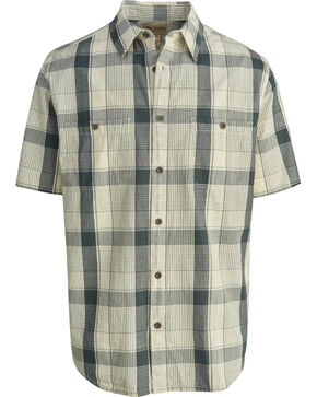 Woolrich Men's Tall Pine Ripstop Plaid Shirt , Grey, hi-res