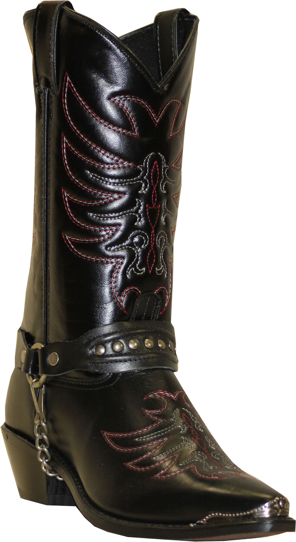 Sage by Abilene Boots Men's Scorpion Harness Boots, Black, hi-res