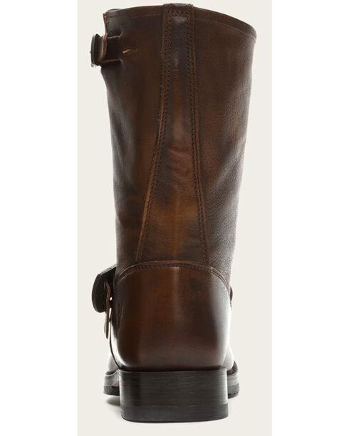 Frye Women's Brown Veronica Short Boots - Round Toe , Dark Brown, hi-res