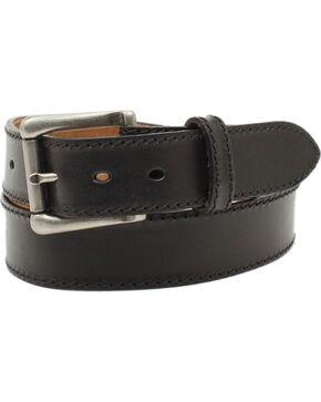 Nocona Men's Ocala Black Oil Tanned Leather Belt, Black, hi-res