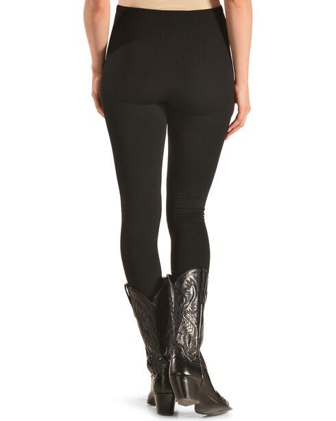 Petrol Women's Fleece Lined Leggings, Black, hi-res