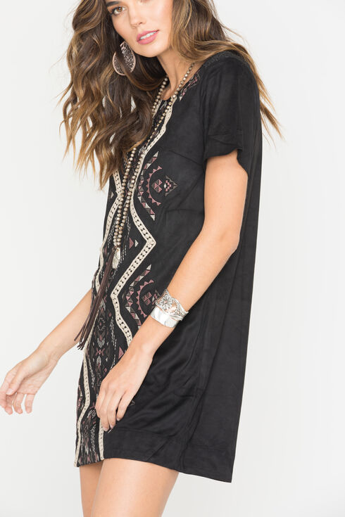 Miss Me Change of Heart Dress, Black, hi-res