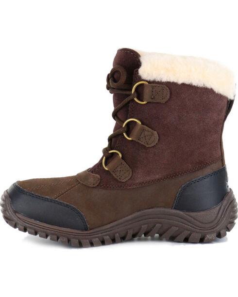 UGG® Women's Ostrander Cold Weather Waterproof Boots, Brown, hi-res
