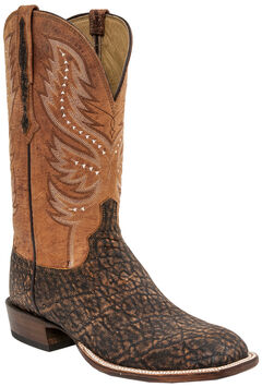 Lucchese Men's Cade Elephant Horseman Boots - Square Toe , , hi-res