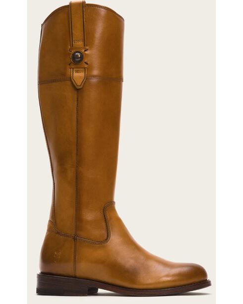 Frye Women's Tan Jayden Button Tall Boots , Tan, hi-res