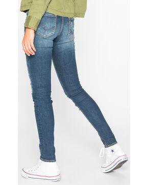 Silver Women's Indigo Suki Dark Wash Jeans - Skinny , Indigo, hi-res
