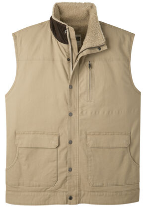Mountain Khakis Men's Ranch Shearling Vest, Tan, hi-res