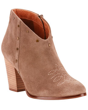 Ariat Women's Unbridled Kaelyn Western Fashion Boots - Medium Toe, Taupe, hi-res