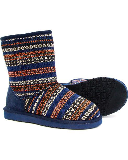 """Lamo Women's 9"""" Juarez Boots, Blue, hi-res"""