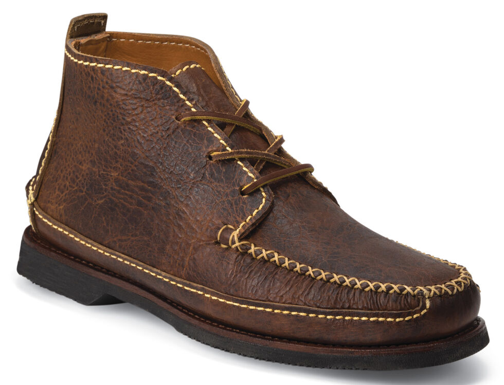 Chippewa Men's Rugged American Bison Chukka Boots, Brown, hi-res