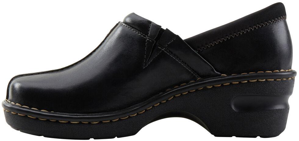 Eastland Women's Black Kelsey Slip On Clogs , Black, hi-res