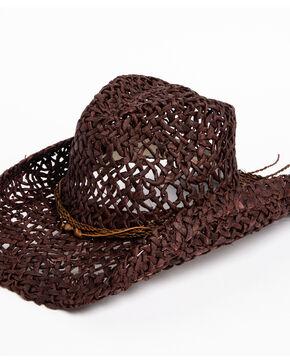 Peter Grimm Women's Brown Clove Hat , Dark Brown, hi-res