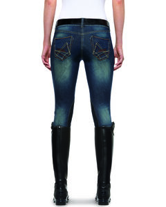 Ariat Women's Denim Breeches, , hi-res