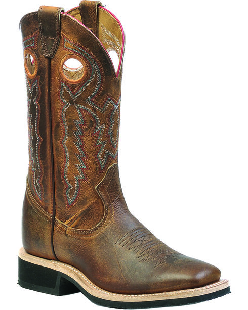 Boulet Laid Back Tan Spice Dual Density Cowgirl Boots - Square Toe, , hi-res