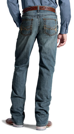 Ariat M2 Quattro Denim Gunsmoke Jeans, , hi-res
