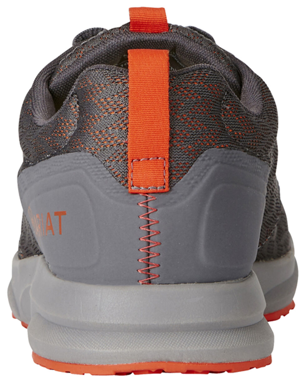 Ariat Men's Grey Fuse Shoes, Grey, hi-res