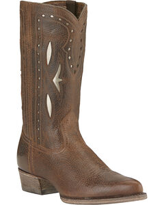 Ariat Starling Boots - Pointed Toe, Brown, hi-res