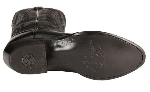 Lucchese Handcrafted Lonestar Calf Cowboy Boots - Medium Toe, Black, hi-res