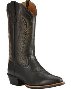 Ariat Limousine Black Drifter Cowboy Boots - Round Toe , , hi-res
