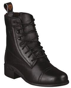 Ariat Children's Performer III Riding Boots - Round Toe, Black, hi-res