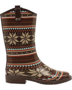 Blazin Roxx Women's Scarlett Rain Boots - Square Toe, Black, hi-res