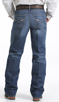 Cinch Grant Medium Stonewash Relaxed Fit Jeans - Boot Cut   , , hi-res