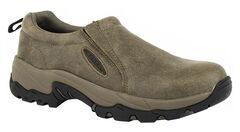 Roper Men's Air Light Slip-On Shoes, Tan, hi-res