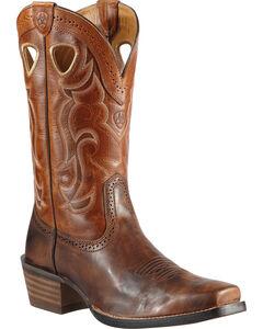 Ariat Rawhide Cowboy Boots - Square Toe, , hi-res