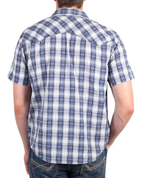 Cody James Rattler Plaid Long Sleeve Shirt, Navy, hi-res