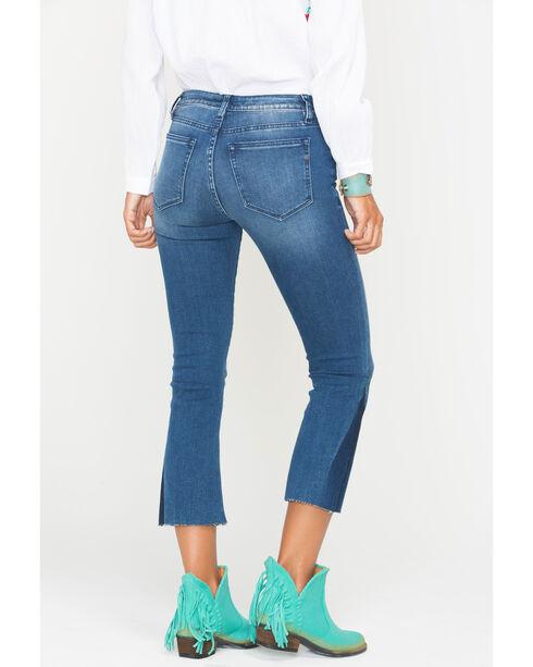Miss Me Women's Indigo Get On My Level Crop Jeans - Boot Cut , Indigo, hi-res
