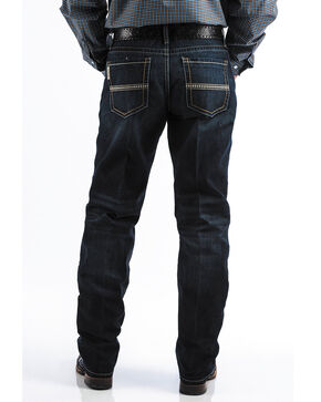 Cinch Men's Sawyer Loose Fit Boot Cut Jeans, Indigo, hi-res