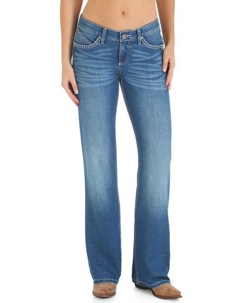 Wrangler Women's Ultimate Riding Shiloh Jeans - Boot Cut , Blue, hi-res