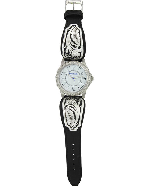 Montana Silversmiths Women's Silver Filigree Watch , Silver, hi-res