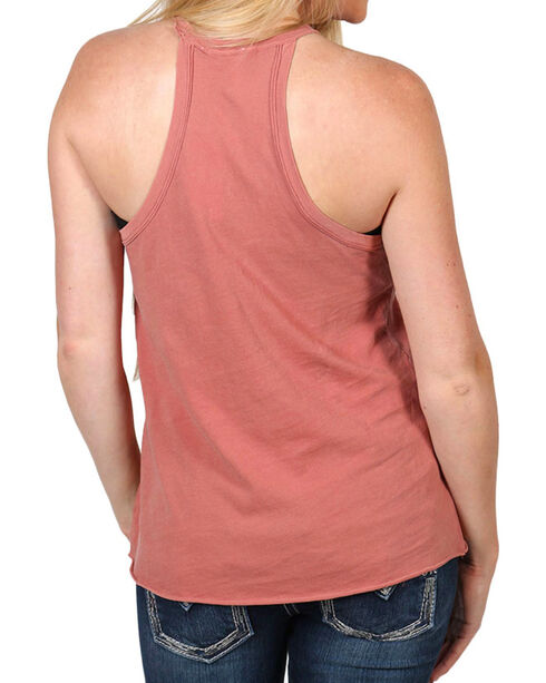 Others Follow Women's Racerback Front Pocket Tank Top, Blush, hi-res