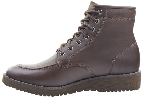 Eastland Women's Dark Tan Dakota Lace-Up Boots, Tan, hi-res