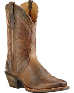 Ariat Woodsmoke Autry Performance Cowgirl Boots - Square Toe , , hi-res