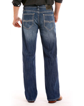 Rock & Roll Cowboy Men's Indigo ReFlex Cannon Jeans - Boot Cut , Indigo, hi-res