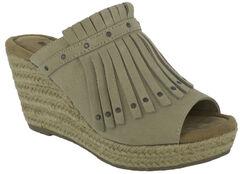 Minnetonka Women's Quinn Wedge Sandals, , hi-res