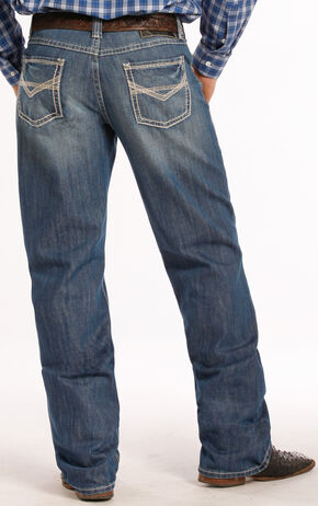Tuf Cooper Performance Competition Fit Jeans - Straight Leg , Denim, hi-res