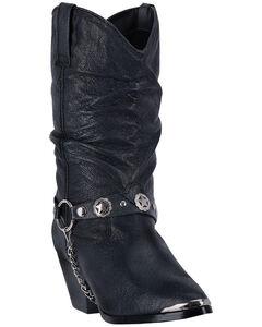 Dingo Supple Pigskin Cowgirl Boots, , hi-res