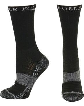 Noble Outfitters Equine Men's Best Dang Crew Socks, Black, hi-res