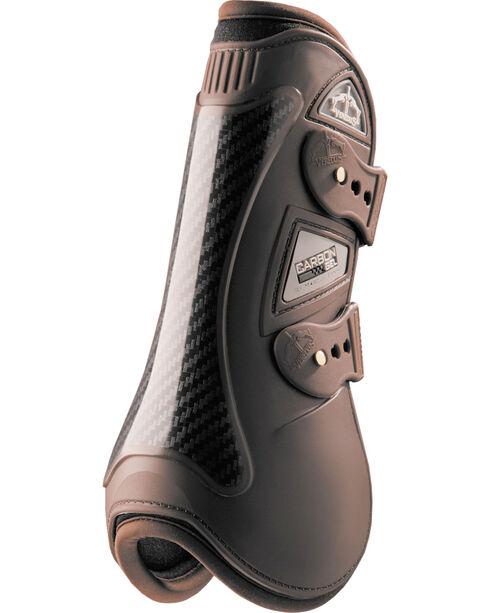 Veredus Brown Carbon Gel Open Front Boots, Brown, hi-res