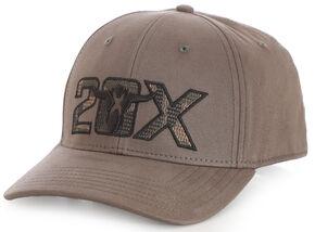 Wrangler Men's 20X Military Green Stretch Fit Cap, Green, hi-res