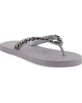 Shyanne® Women's Bling Sandals, Grey, hi-res