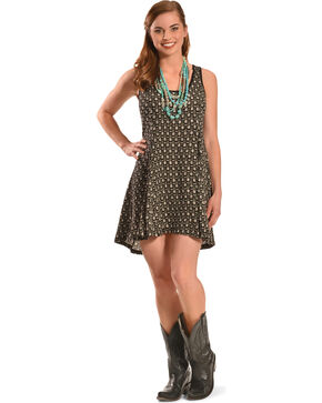 Others Follow Women's High Tides Dress, Black, hi-res