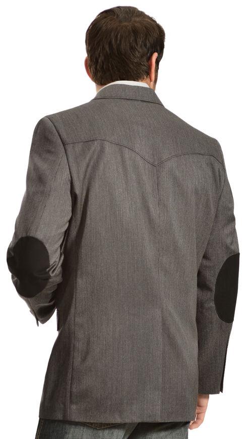 Circle S Men's Houston Elbow Patch Sport Coat, Grey, hi-res
