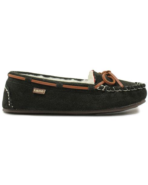 Lamo Footwear Women's Britain Moccasins, Black, hi-res