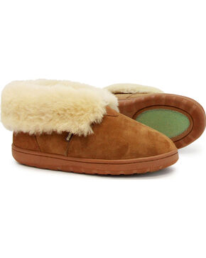 Lamo Footwear Women's Chestnut Double Face Slippers , Chestnut, hi-res