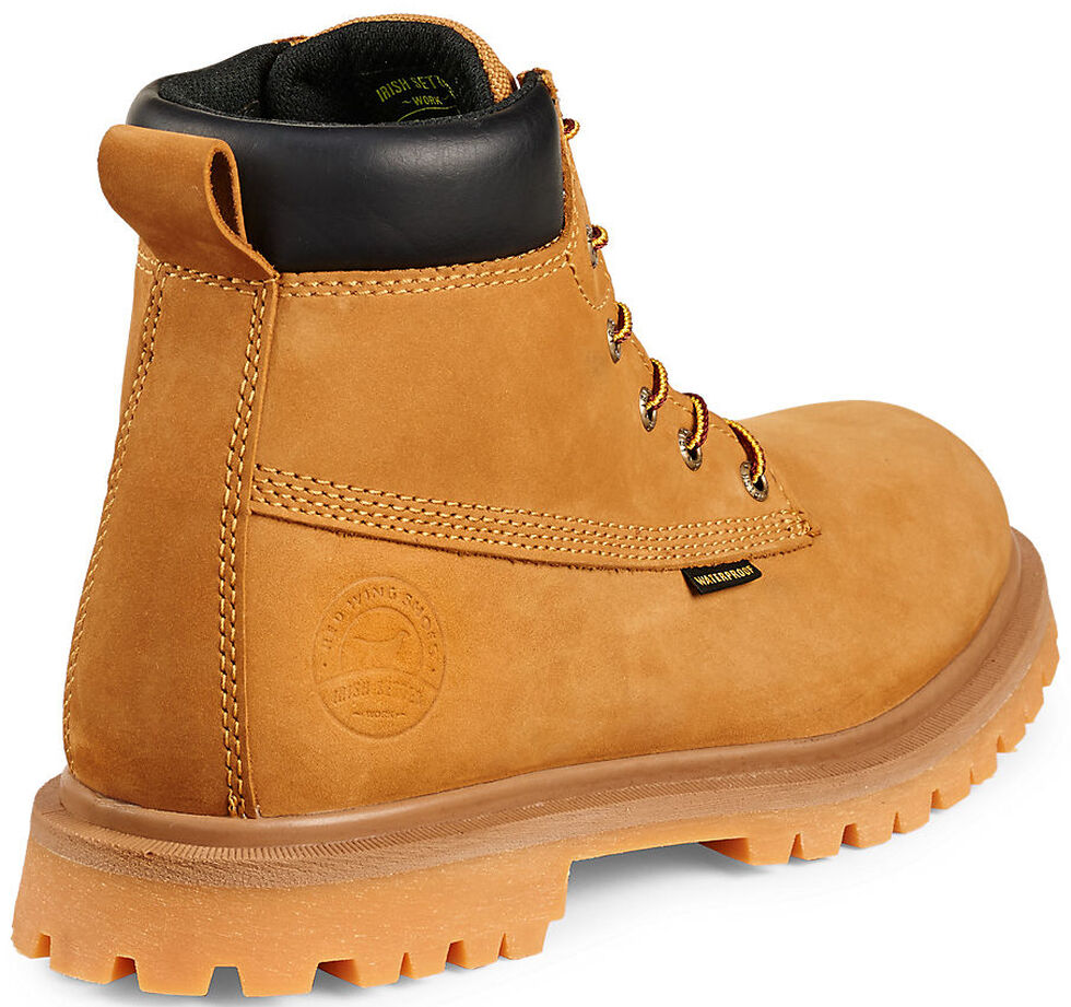 Irish Setter by Red Wing Shoes Men's Hopkins Insulated Work Boots -  Soft Round Toe , Wheat, hi-res