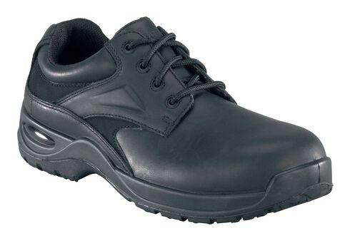 Florsheim Men's Vaquero Composite Toe Lace-Up Oxford Shoes, Black, hi-res